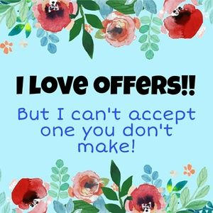 Make an offer! Bundle your likes for a great deal!